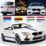 Calcos Autos Deportivos X 5 Banderas Alemania Francia Italia