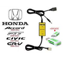 Adaptador Interface Usb/aux -honda- New Civic Crv Accord Fit
