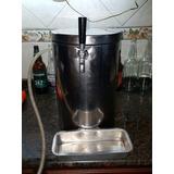 Chopera Para Tirar Cerveza Artesanal Modelo Plata