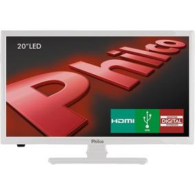 Tv Led 20 Polegadas Philco Ph20u21db Hd Com Conversor Branca