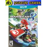 Mario Kart 8 Wii U Español Fisico Sellado Local