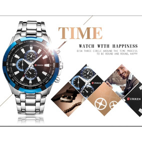Relógio Masculino De Luxo Curren