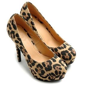 Zapatos Altos Tacones Plataforma Nro. 8