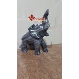 Elefante En Esculturas De Mármol 25 Cm De Altura