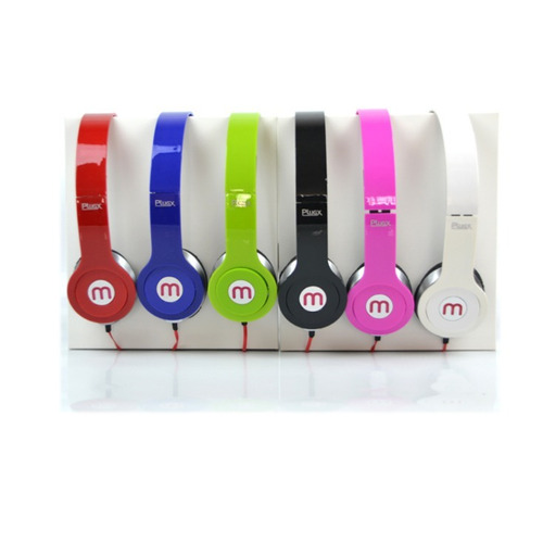 Fone Com Microfone Headphone Plugx F-569