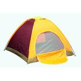 Carpa Camping Impermeable 4 Personas Dia Campo Acampar 0698