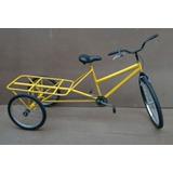 Bicicleta Triciclo De Carga Sem Caixa Top