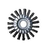 Escova De Aço Carbono Jn Trançada 4.1/2 X 1/2 X 7/8