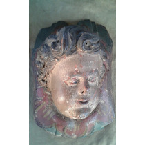 Anjo Em Madeira (querubim) Arte Sacra