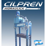 Prensa Hidraulica Motorizada Tipo Taller Cilpren Hidraulica