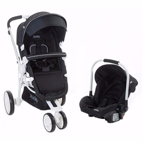 Coche Travel System Kiddy Compass Plus White