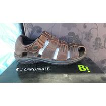 Zapato Cardinale 100% Cuero Color Café N° 42.