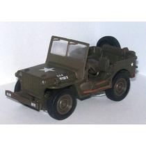 Jeep Willys Replica Escala 1/32 De Metal ***original***
