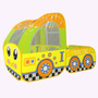 Carpa Infantil Camping Plegable Carro Amarillo Bus 899-163