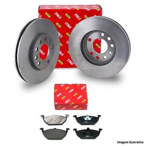 Kit Discos E Pastilhas Freio Dianteiras Trw Vectra Gtx 2010