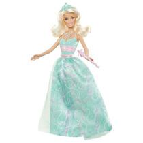 Barbie Princesa Barbie Doll Dress Green - Versión 2012