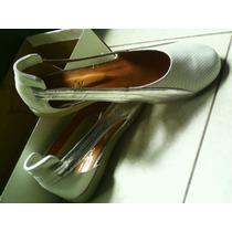 Zapato Mujer Chatita Kouro Cuero Original Nuevo Cómodo Bajo