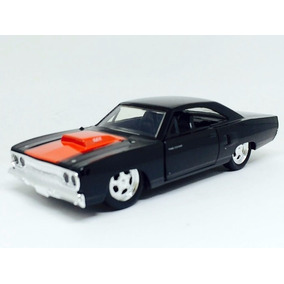 Plymouth Road Runner 1970 Preto Bigtime Muscle 1:32 Jada