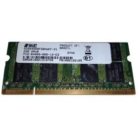 Memória Notebook 4 Gb Ddr2 800 Mhz Pc2-6400