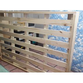 Cama 2 plazas pino usada camas y respaldos camas de 2 plazas usado en mercado libre argentina - Colchon tatami ...