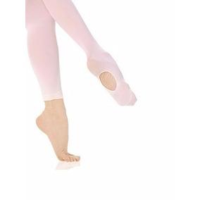 Meia Calça Pé Conversível Ballet Ginastica Jazz Ioga Adulto