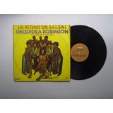 Lp Vinilo Orquidea Robinson Orq A Ritmo Salsa Colombia 1982