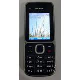Celular Nokia C2-01 3g Bluetooth Cam 3,2mp Desbloqueado!
