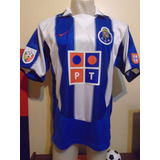 Camiseta Porto Portugal 2004 2005 Deco  10 Selección T. L 9632eec1c2eb2