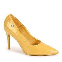 Sapato Scarpin Feminino Vizzano - Amarelo