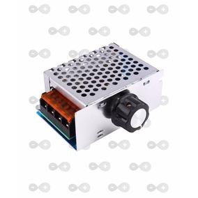Dimmer 4000w Regulador De Tensão Elétrica Ac 10-220v
