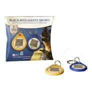 (5 Pack) Smart Tag/placa Inteligente Qr Y Nfc Para Mascotas