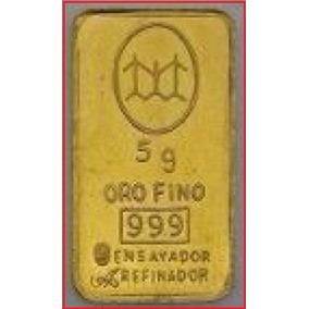 Lingote Oro 24k Banco Ciudad Certificado Compra Por Gramo