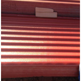 Laminas Acerolit Color Rojo/rojo Natural/rojo Rojo/blanco