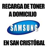 Recarga De Toner Samsung A Domicilio En San Cristobal