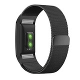 Fitbit Charge 2 Metal Band Negro Pequeño, Ztotop Accesorios