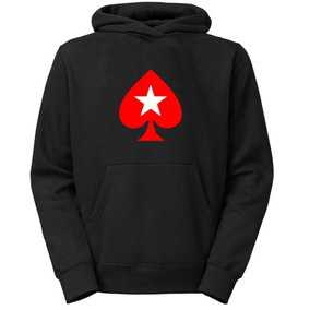 Moletom Poker Stars Jogos Casaco Cartas Blusa Frio +brinde 6f4022cb7e3
