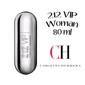 Perfume 212 Vip Plata Dama Carolina Ny Herrera 80 Ml Pau