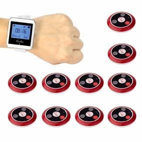 Relógio Chama Garçon Função Vibra E Toca Com 10 Pagers