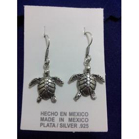 Aretes De Plata .925 Tortugas