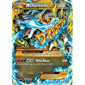 Carta Pokemon Mega Charizard Ex