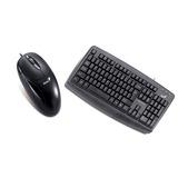 Combo De Mouse Xscroll Ps2 + Teclado Kb-110x Ps2 Genius