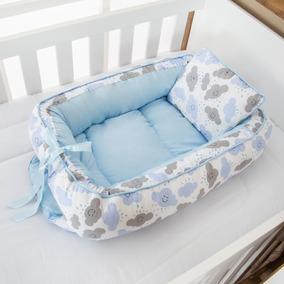 Ninho Redutor Bebê Menino Nuvem Azul Bebê