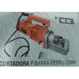 Cortadora De Barras De Fierro De 22mm, Mod Rc-22
