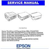 Service Manual Impressoras Epson Stylus Office Tx620 Fwd