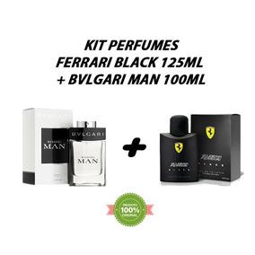 4a5ebf5783d Ferrari Black Masculino 50ml (imitação) Bvlgari Ate 90ml - Perfumes ...