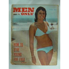 Revista Xxx Men Only August 1965 No Playboy No Sex Vintage