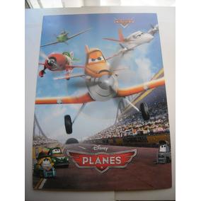 Imperdible Poster Original Pelicula Aviones / Cars / Planes