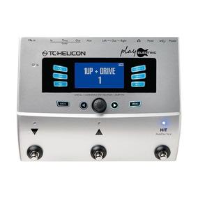 Pedaleira Para Voz E Guitarra Play Electric Tc Helicon