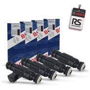 4 Bicos Injetor Bosch 65 Lbs/h 0280156453