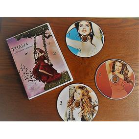 3 Dvd - Thalia - Todos Os Clipes